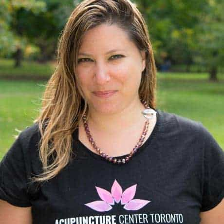 Clinic owner and experienced R. Ac of over 17 years Sarah Kreitzer at Acupuncture Center Toronto